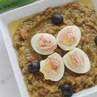 Salade de poivrons grilles au four | cuisineculinaire.com