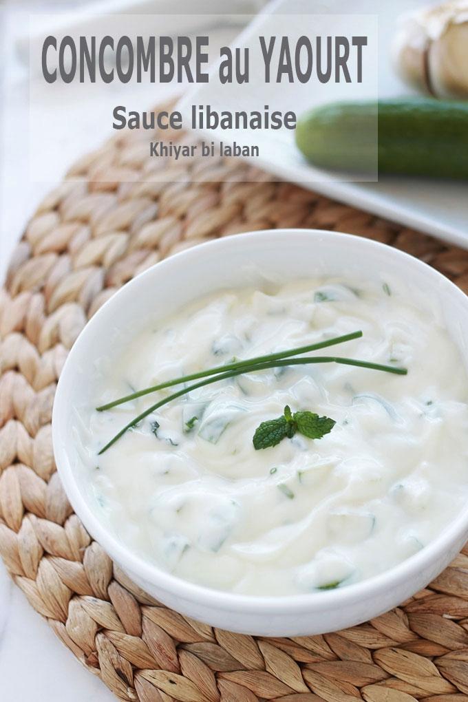 La sauce concombre au yaourt, rafraîchissante et si simple à faire. Parfaite pour un apéro dînatoire, un must sur un plateau de mezzé, accompagne à merveille les falafel, mais aussi les viandes grillées et plats épicés.