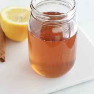 Sirop de sucre maison faux miel pour pâtisseries orientales