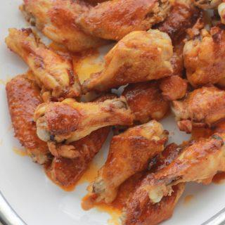 Ailes de poulet sauce Buffalo