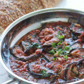 Aubergines sauce tomate