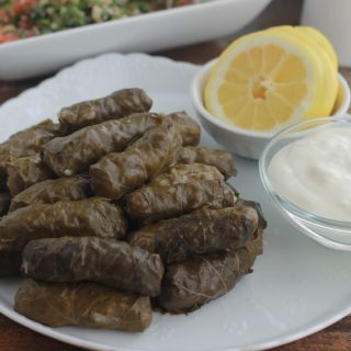 Feuilles de vigne farcies à la viande Liban