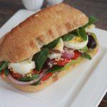 Pan bagnat sandwich complet classique
