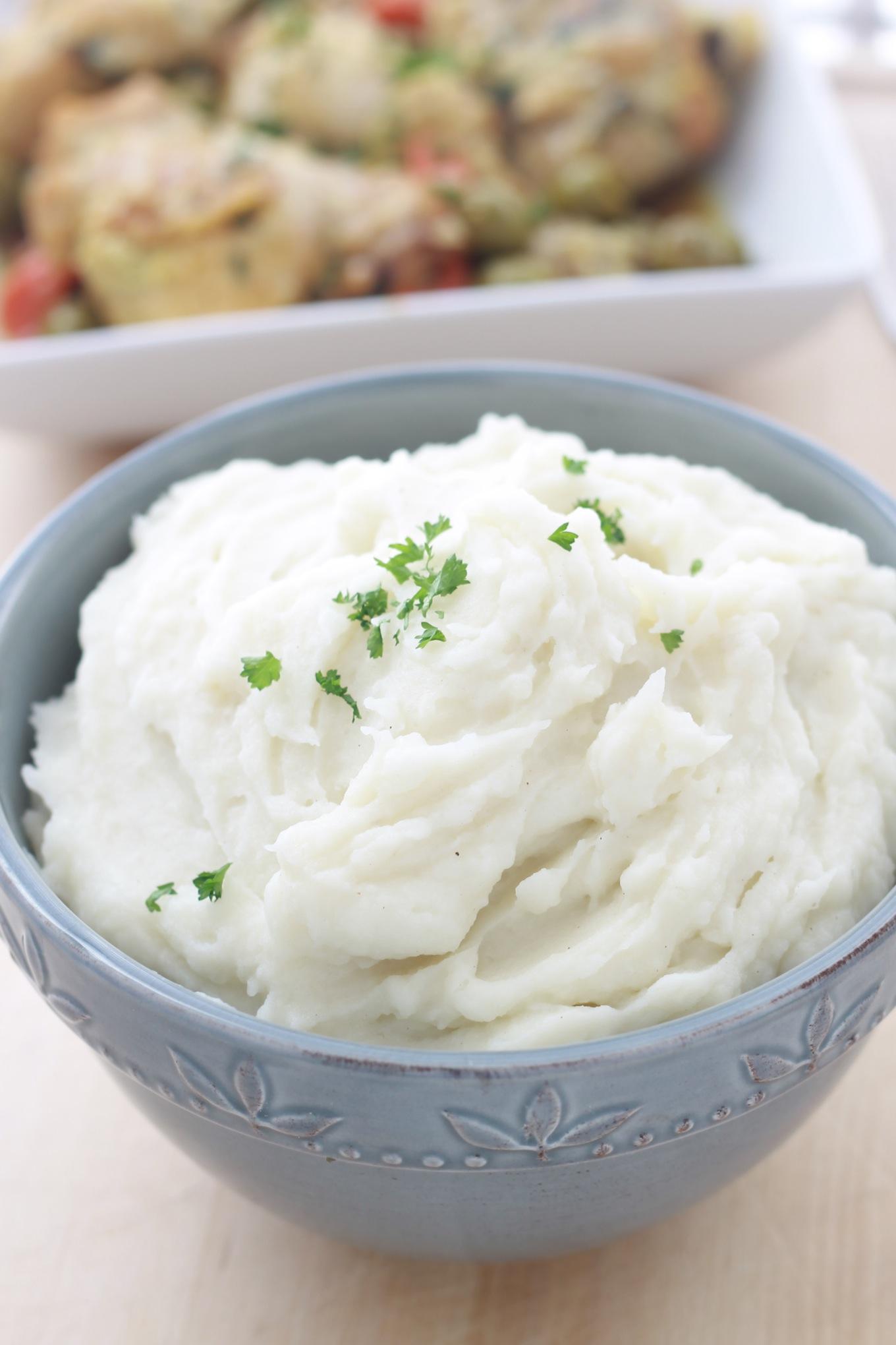 Purée de pommes de terre classique
