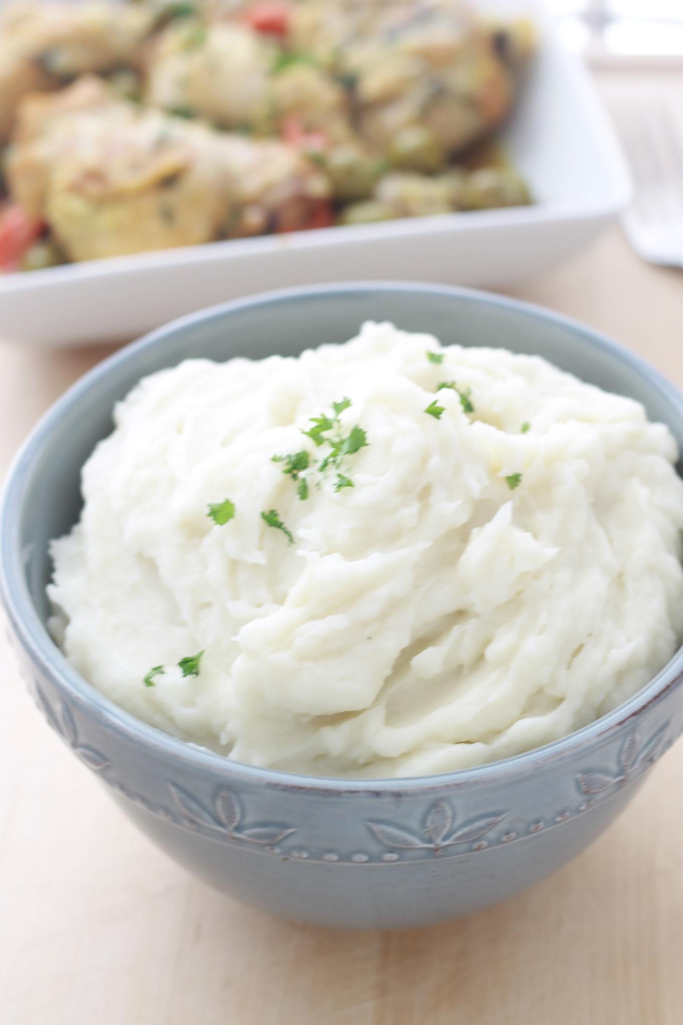 Purée de pommes de terre traditionnelle
