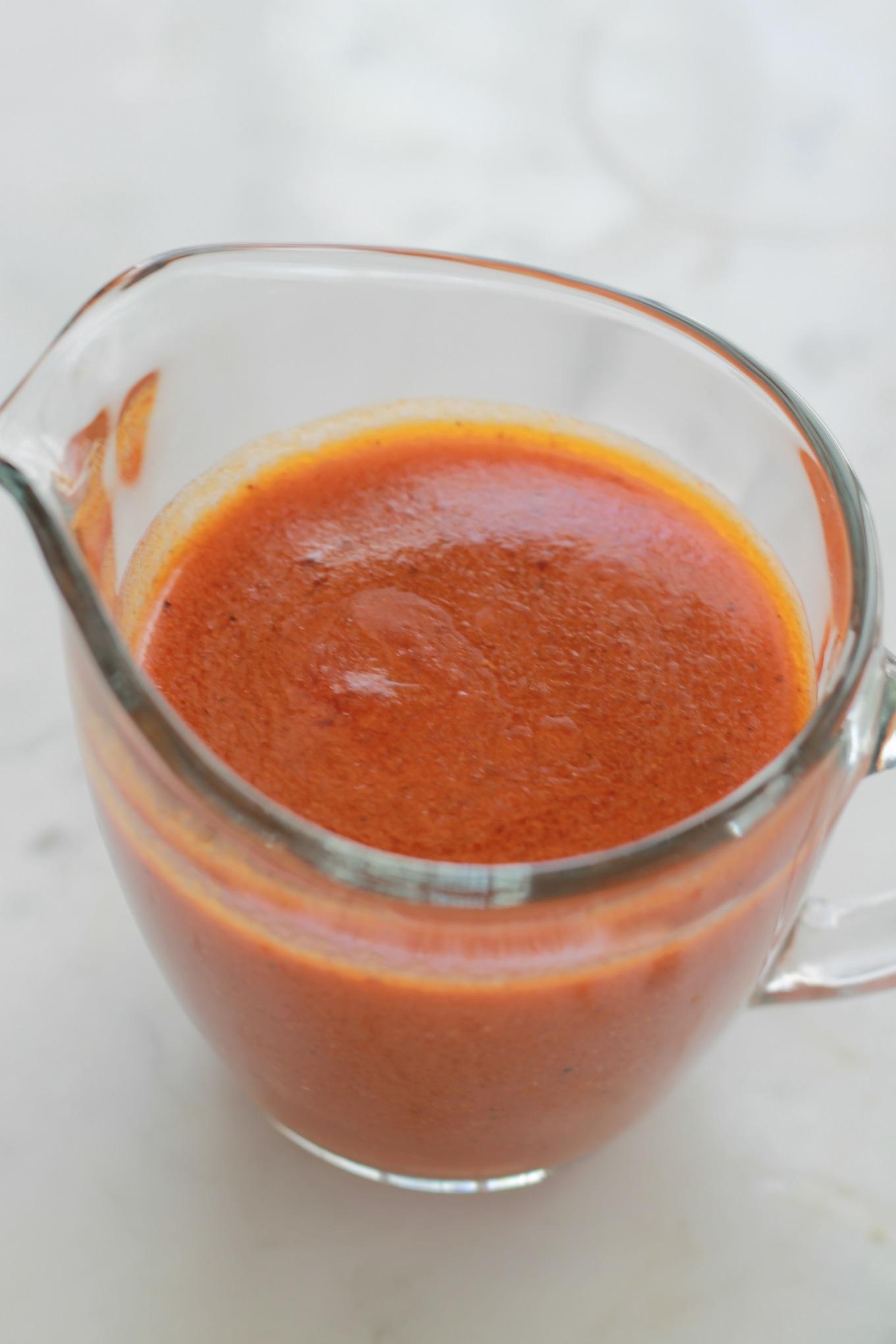 La sauce Buffalo est principalement utilisée dans la fameuse recette des