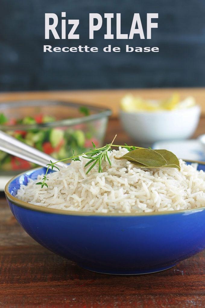 Le riz pilaf est une recette de base que vous devez absolument apprendre à faire si vous aimez le riz. En plus d'être facile et rapide, vous pouvez le décliner à l'infini! En ajoutant des légumes, viande, poisson ou fruits de mer.