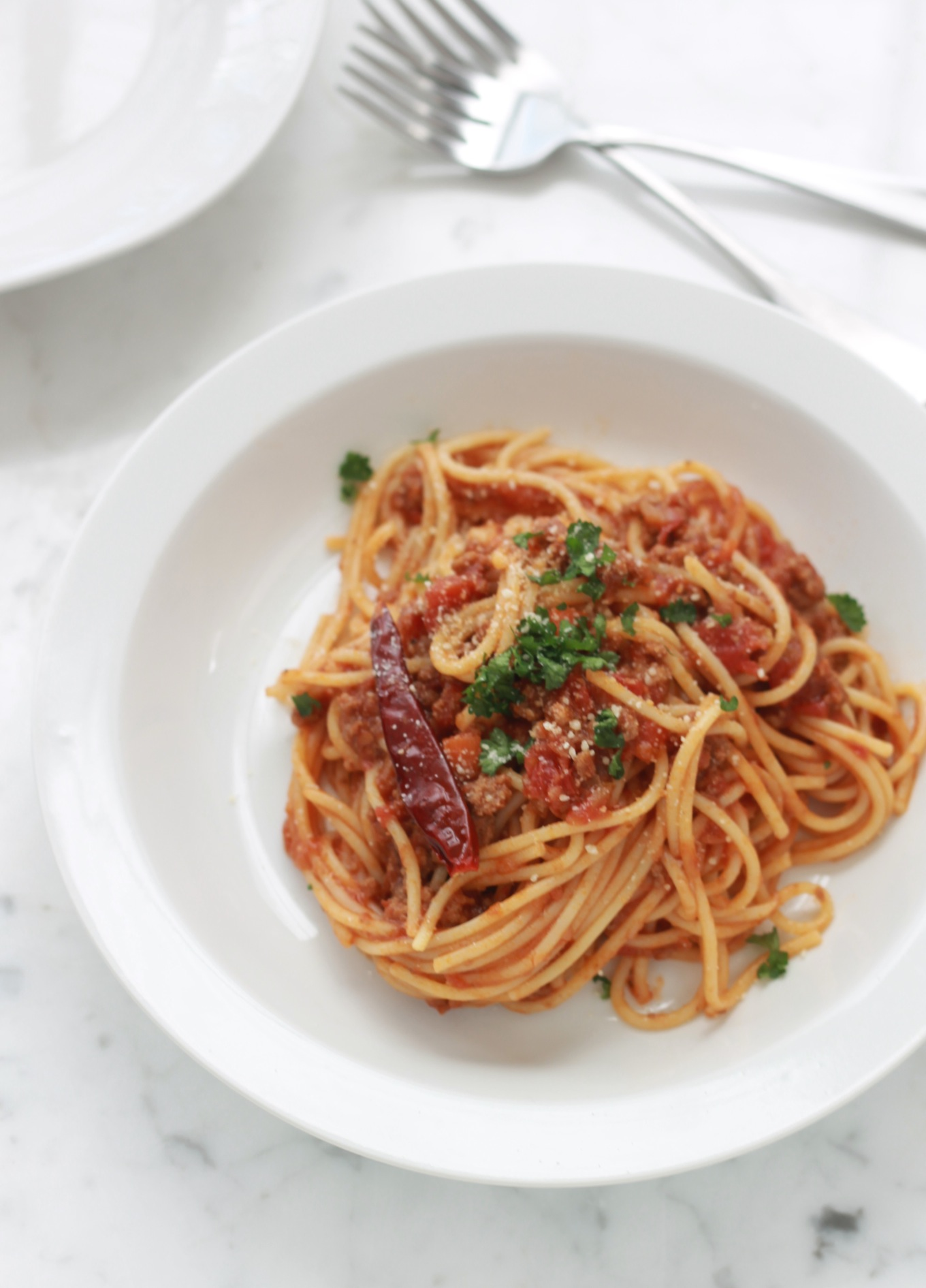 Spaghetti bolognaise recette facile cuisine culinaire for Pinterest cuisine facile