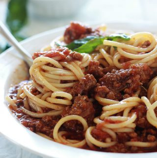 Spaghetti bolognaise recette facile
