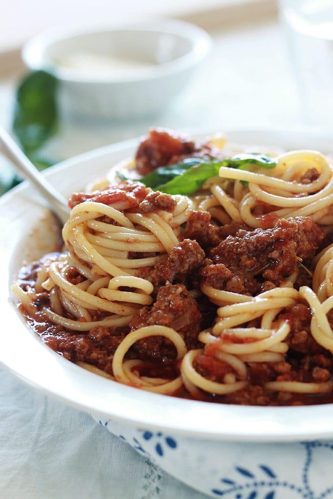 Spaghetti Bolognaise Recette Facile Cuisine Culinaire