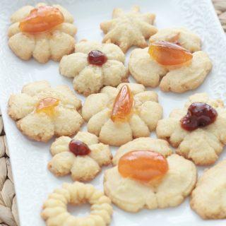 Spritz classiques – biscuits au beurre
