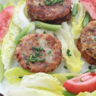 Makouda viande hachée (galettes de pommes de terre)