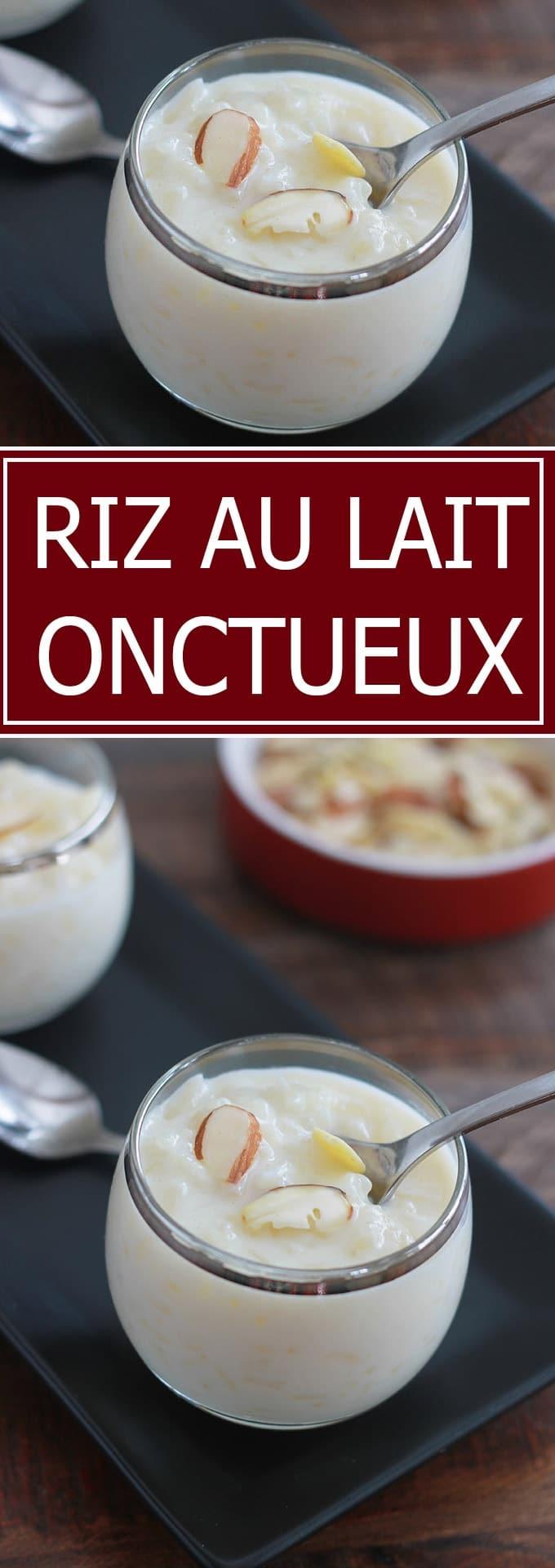 Riz au lait classique, onctueux. Je vous donne trois astuces pour le réussir. Délicieux avec un coulis de fruits ou du caramel au beurre salé.