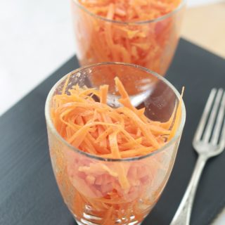 Salade de carottes râpées classique