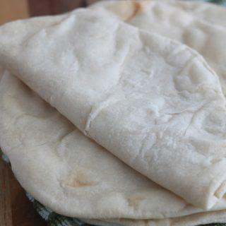 Tortilla mexicaine à la farine de blé