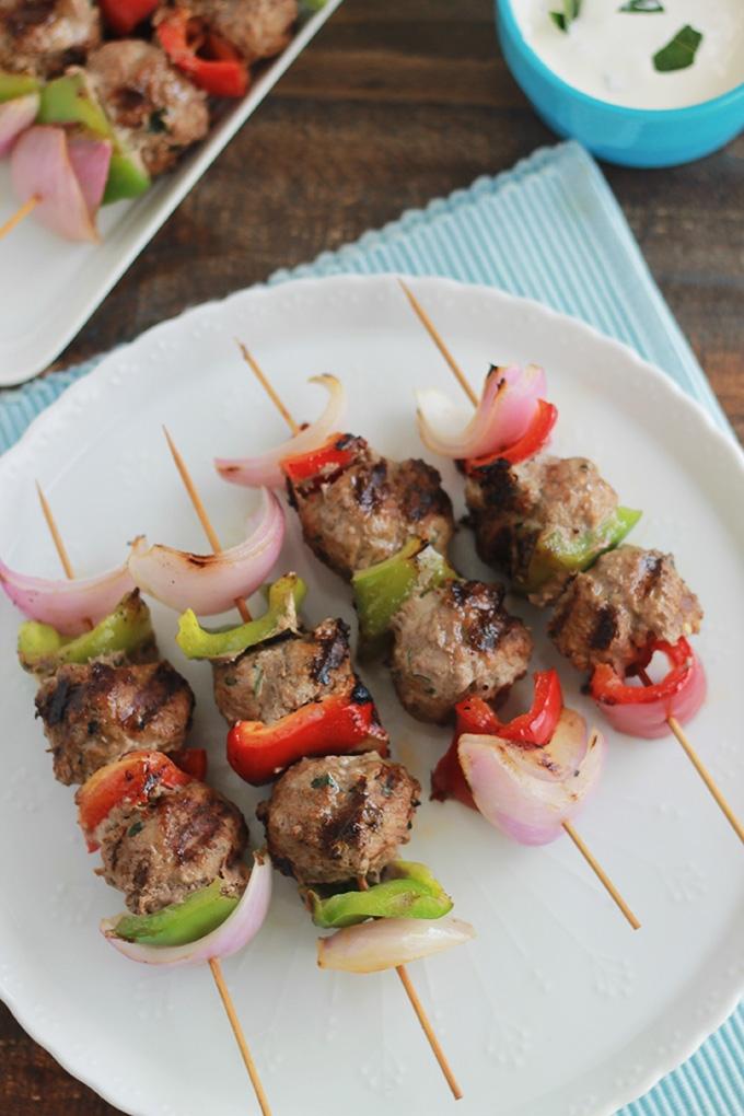Brochettes de boulettes de boeuf oignon poivrons - Cuisiner une joue de boeuf ...
