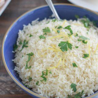 Recette riz au citron facile