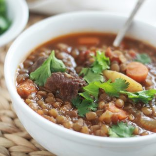 Soupe aux lentilles algérienne (chorba 3dess)