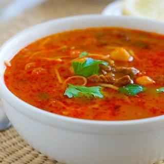 Chorba vermicelle (soupe aux vermicelles algérienne)
