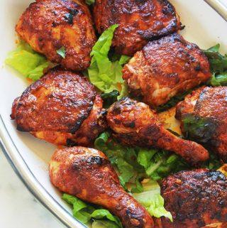 Poulet tandoori au four ou poêle – recette facile