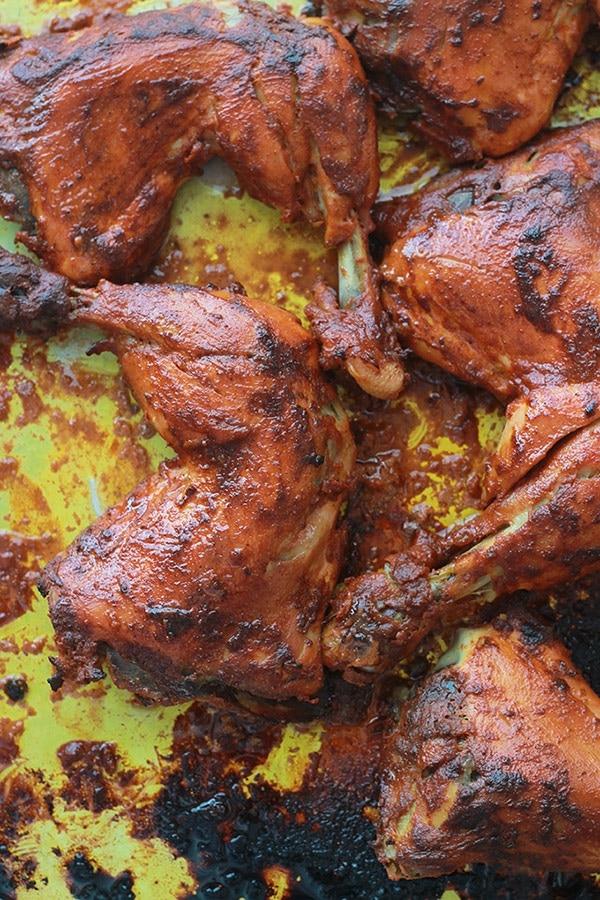 poulet tandoori facile recette indienne cuisine culinaire. Black Bedroom Furniture Sets. Home Design Ideas