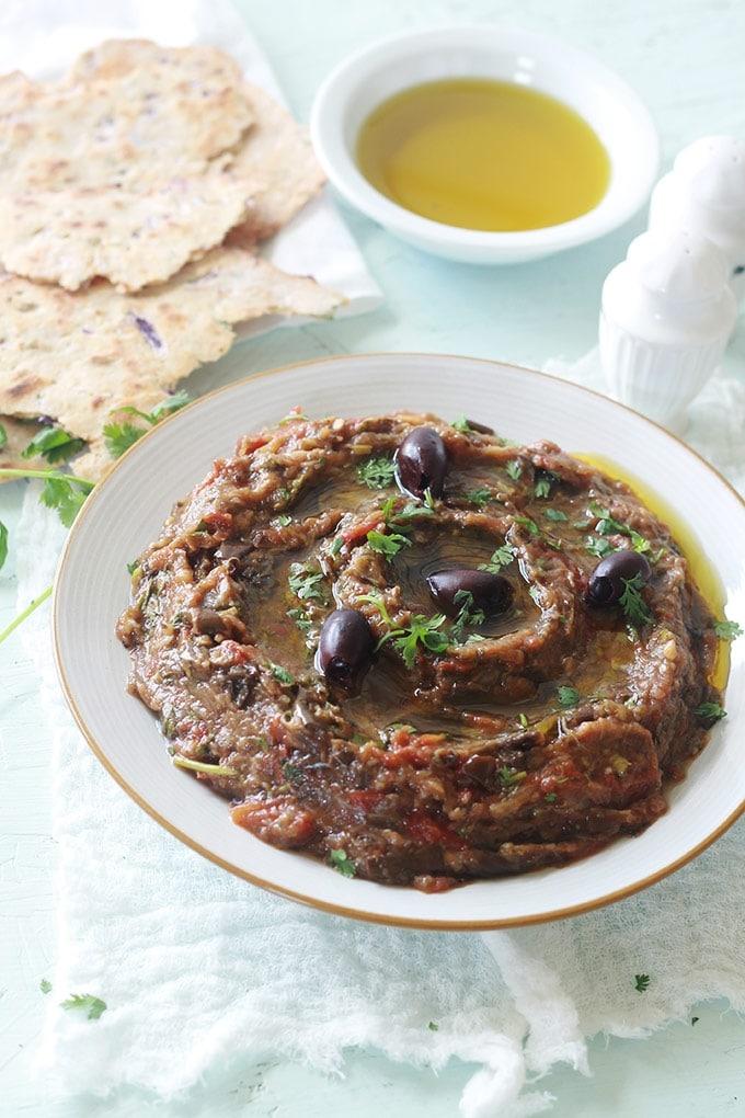 Zaalouk recette marocaine caviar d aubergines cuisine culinaire - Cuisiner aubergine rapide ...