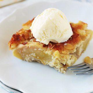 Gâteau d'Eve aux pommes et amandes