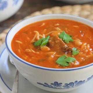 Recette harira algérienne (soupe hrira)