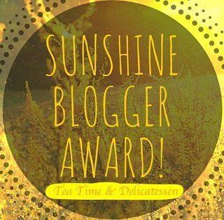 Sunshine Blogger Award – Mon portrait chinois