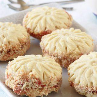Biscuits secs fondants, recette facile rapide