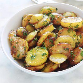 Pommes de terre sarladaises, recette facile