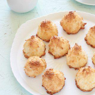 Rochers à la noix de coco moelleux sans gluten
