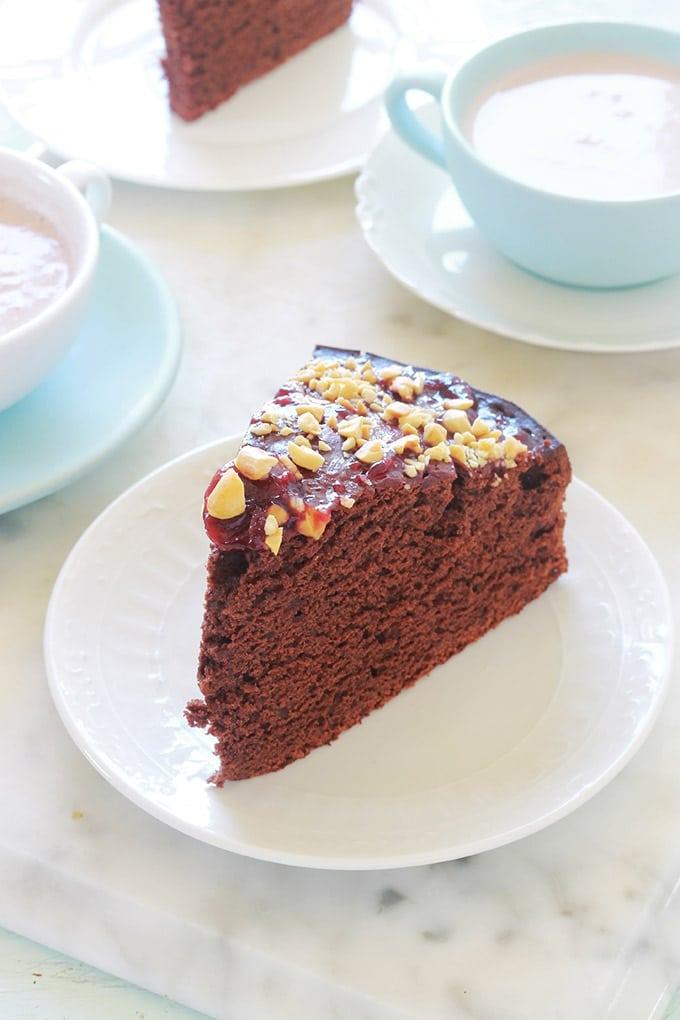 Gâteau au yaourt et cacao en poudre, recette facile ...