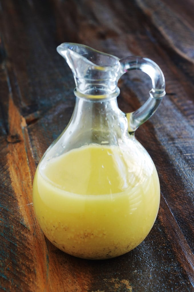 Vinaigrette moutarde de Dijon recette maison
