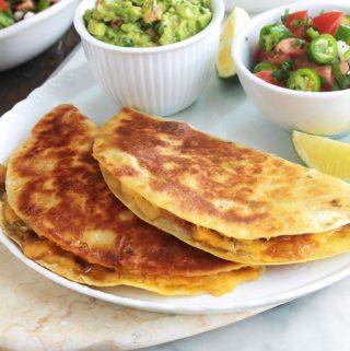 Comment faire des quesadillas mexicaines ?