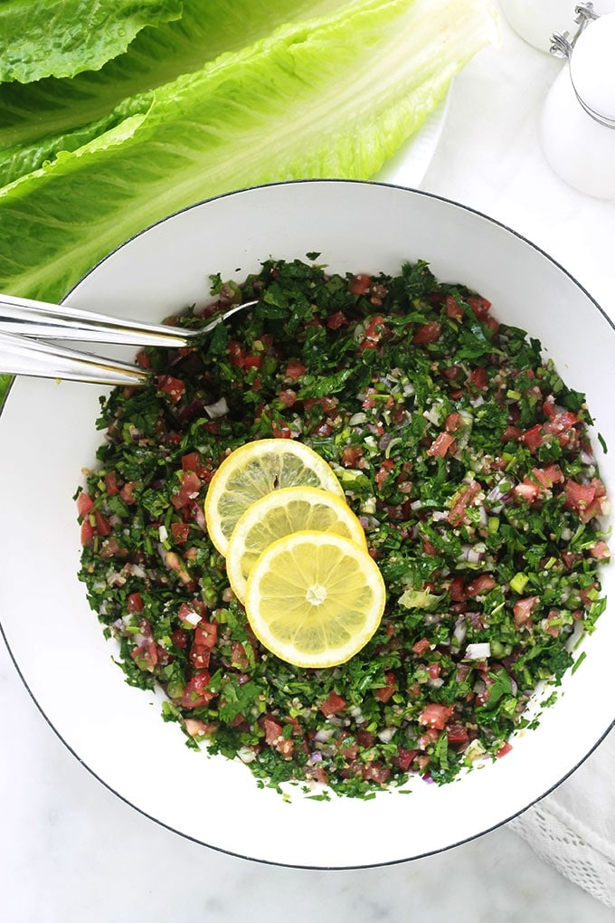 Salade taboulé libanaise