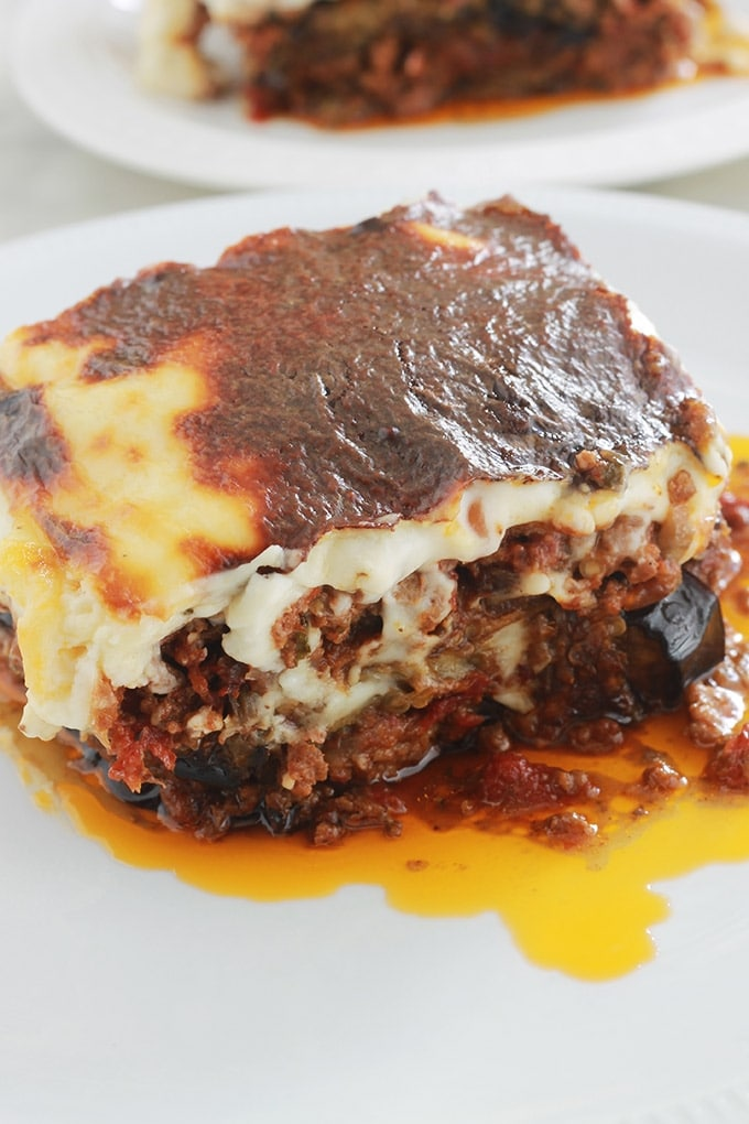 Moussaka Grecque Recette Facile Cuisine Culinaire