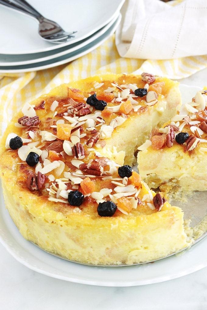 Pudding Aux Restes De Gateau Et Raisins Secs Citron Cuisine