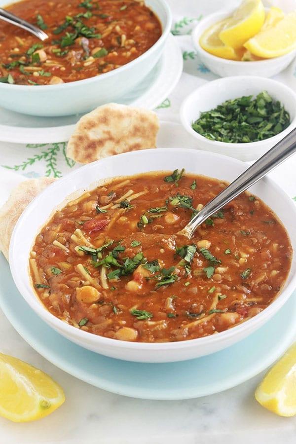 Recette de la soupe marocaine (harira / Hrira) - Cuisine