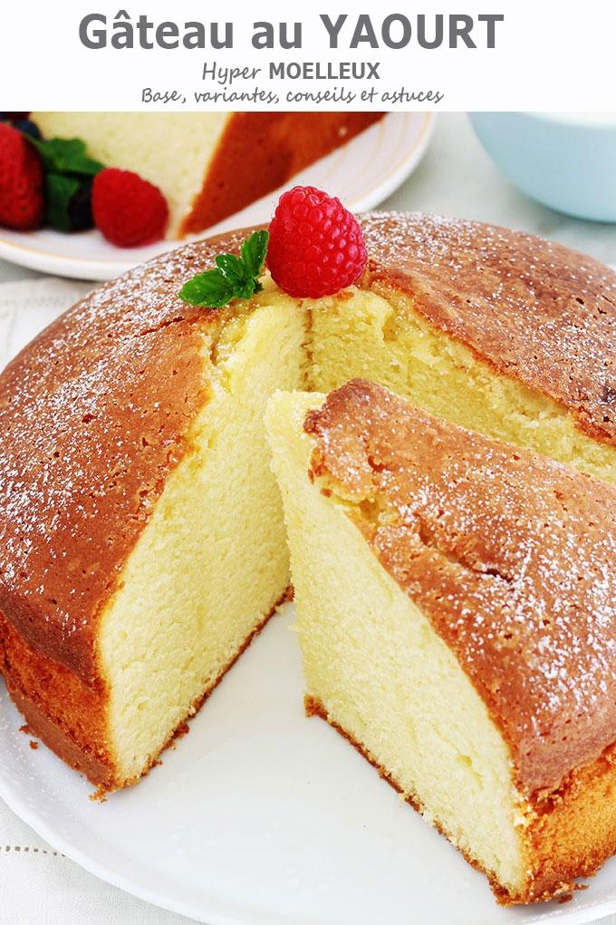Gâteau Au Yaourt Ultra Moelleux Recette Facile Cuisine Culinaire