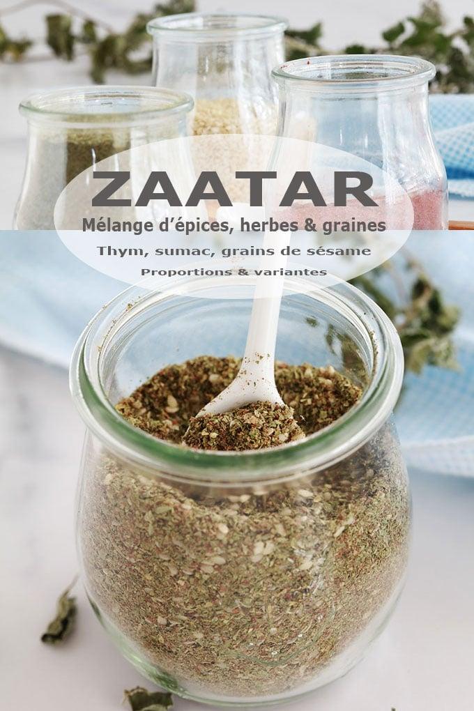 Zaatar libanais, recette maison, proportions et variantes