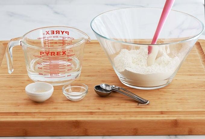 Ingredients petits pains sans petrissage rapides