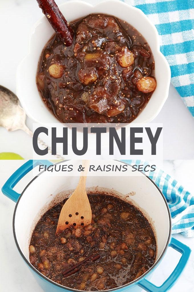 Chutney de figues maison, recette facile