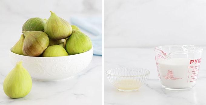 Ingredients confiture de figues sans pectine figues sucre citron
