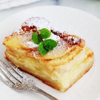 Gateau aux pommes moelleux fondant bolzano apple cake