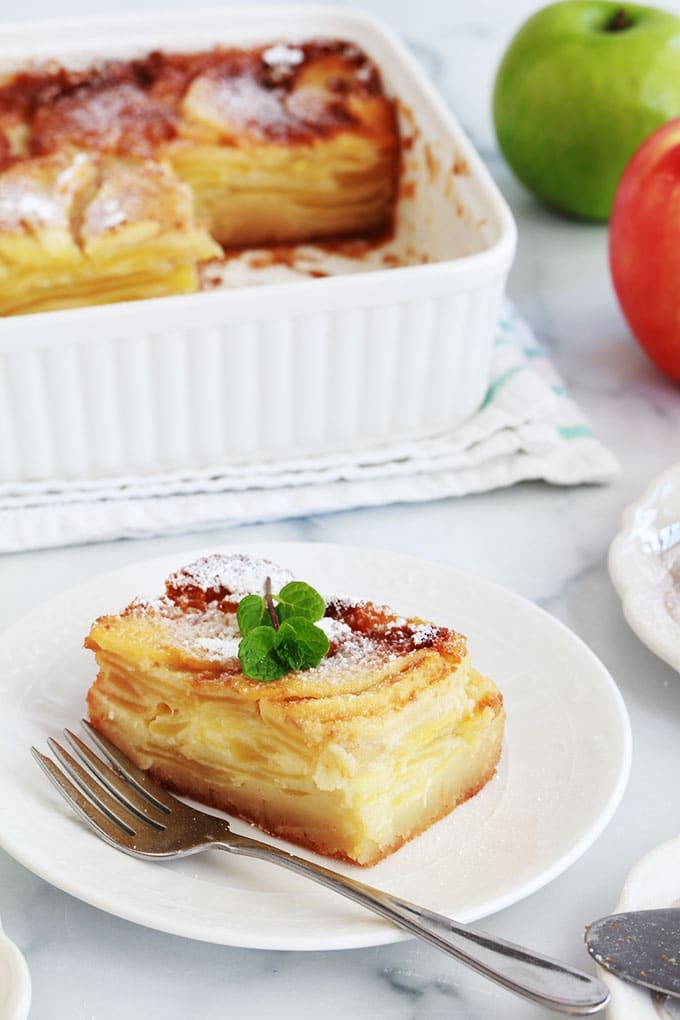 Gateau aux pommes moelleux fondant recette facile bolzano apple cake